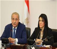 «التعاون الدولي» و«التموين» تعرضان جهود مصر لتعزيز سلاسل القيمة المستدامة