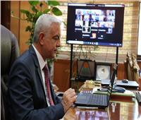 رئيس جامعة المنوفية يشارك فى الاجتماع الأول للجنة التنمية المستدامة والحوكمة