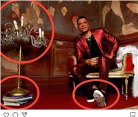 «حسن شاكوش» يقع في مأزق  بعد القاء الكُتب بجانب حذائه