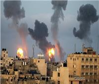 خاص  عشرات الغارات حاليا وقصف مكثف على العديد من المناطق بغزة