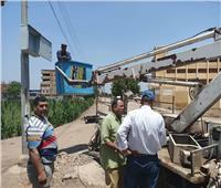 جولات ميدانية لاستكمال أعمال تطوير مدينة الشهداء بالمنوفية