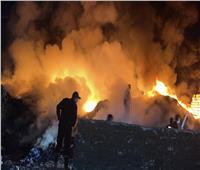إخماد حريق بـ«ثلاجة بطاطس» وآخر بالقرب من قويسنا الصناعية