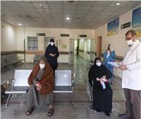 تعافي وخروج 6 حالات كورونا بمستشفى قفط التعليمي بقنا