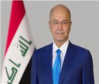 رئيس العراق يُجري اتصالا هاتفيا مع «عباس» لبحث تطورات القدس