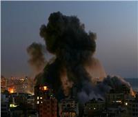 صحة الاحتلال تحذر من الهواء الملوث بسبب احتراق خزان اشكلون