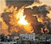 طائرات الاحتلال تدمر برج الجوهرة وسط غزة