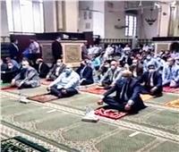 محافظ الجيزة يؤدي صلاة العيد بمسجد المغفرة بحي العجوزة