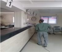 رئيس ملوى: استمرار حملات التطهير وتعقيم المنشآت الحيوية