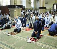 محافظ الجيزة يوجه رسالة عقب صلاة العيد بمسجد المغفرة   صور