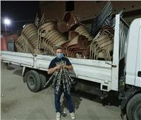 رفع 120 طن قمامة وغلق المقاهي والمحال المخالفة بالجيزة