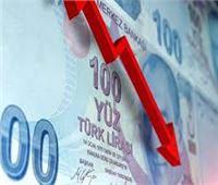 الليرة التركية تواصل هبوطها أمام الدولار بسبب التضخم