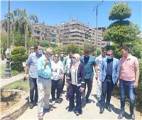 «نائب محافظ القاهرة» تتابع التزام الأحياء بتطبيق الإجراءات الاحترازية
