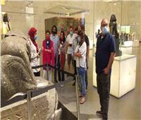 وفود سياحية من مختلف دول العالم تزور المتحف القومي للحضارة