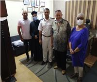 وفد المجلس الرعوي للكنيسة الكاثوليكية بشرم الشيخ يهنئ محافظ جنوب سيناء