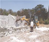 إزالة 53 حالة تعدٍ على الأراضى الزراعية.. وإحالة المخالفين للتحقيق