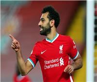 محمد صلاح يسجل الهدف الرابع لليفربول في مانشستر يونايتد