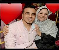 كنت عايش عشانك.. قصة حزينة لشاب توفي بعد يومين من وفاة والدته بقنا