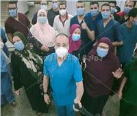شفاء وخروج ١٢ حالة من مستشفى عزل أبوتيج في أسيوط | صور