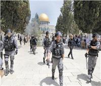 قوات الاحتلال الإسرائيلي تعتدي على المصلين القادمين للأقصى
