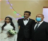 وزير النقل يحضر حفل زفاف إبنة قائد قطار أسوان.. صور
