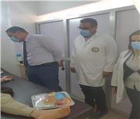 وكيل صحة المنوفية يتفقد منافذ تقديم الخدمات الطبية | صور