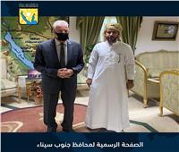 محافظ جنوب سيناء : انشاء مضمار تدريبي للهجن برأس سدر