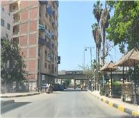 الإهمال يضرب الأرصفة المضيئة بمدينة شبين الكوم