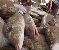 أسعار الأسماك  في سوق العبور ثالث أيام عيد الفطر