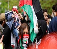 مظاهرات في برلين للتنديد بالاعتداءات الإسرائيلية على قطاع غزة