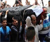 تشييع جثامين ربة منزل وطفلتاها دهسهم قطار الصعيد بالمنيا