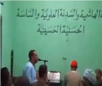 أثناء وصلة مدح للرسول.. وفاة أشهر منشد ديني بمحافظة قنا.. فيديو
