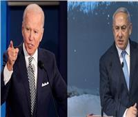 اتصال هاتفي بين «بايدن» و«نتنياهو» حول توترات الأوضاع في غزة والقدس