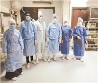 «كورونا» فى قبضة المستشفيات