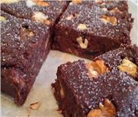حلوى العيد | براونيز التمر والشوكولاتة