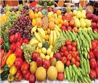 أسعار الفاكهةفي سوق العبور برابع أيام عيد الفطر