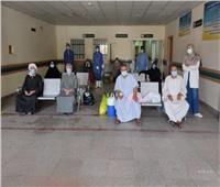إرتفاع عدد المتعافين من كورونا بمستشفى قفط في قنا إلى 330 حالة