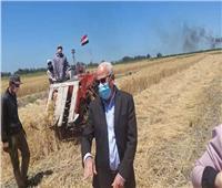 محافظ بورسعيد: انتظام توريد القمح بإجمالي 5320 طنا للصوامع والمطاحن
