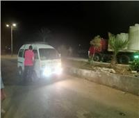 محافظ المنيا يتابع جهود الوحدات المحلية خلال إجازة عيد الفطر المبارك
