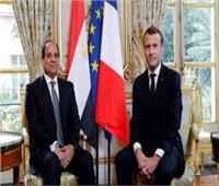 الرئيس السيسي في باريس 5 مليار يورو حجم الاستثمارات الفرنسية في مصر
