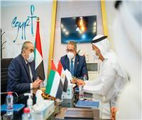 «العنانى وعنبة» يلتقيان وزير دولة الإمارات المكلف بملف السياحة