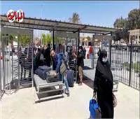 الفلسطينيون يتوافدون على معبر رفح.. والهلال الأحمر يستقبل الجرحى