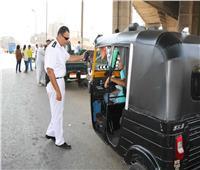 القليوبية تبدأ تطبيق قرار حظر سير التكاتك في الشوارع الرئيسية