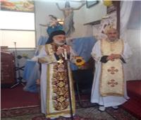 «الأنبا باسيليوس» يزور المدارس الكاثوليكية وكنيسة القديسة تريزا بمغاغة