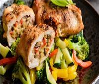 من مطبخك اليوم | وصفة «رول الدجاج» المحشي بالخضار