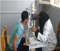 فحص 244 مواطنا في قافلة طبية في بني سويف