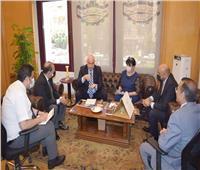 مباحثات مصرية جورجية لزيادة حجم التبادل التجاري والاستثماري المشترك.