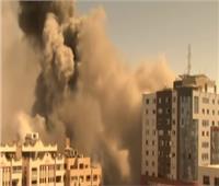 إصابة عشرات الفلسطينيين في قصف مدفعي وغارات إسرائيلية شرق غزة