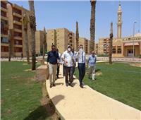 مسئولو «الإسكان» يتفقدون سير العمل بمشروعات مدينة حدائق أكتوبر