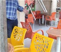 تحرير 2760 محضر عدم ارتداء كمامةو254 غلق مقهي بالقليوبية