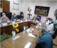 مجلسالتربية النوعية بأشمون يجتمع مع رئيس المدينة لبحث التعاون المشترك